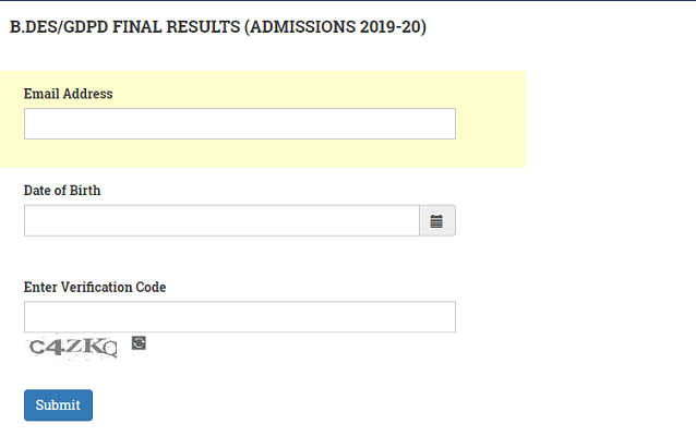 NID Result 2019 (Announced) - Check Final NID DAT Result Here